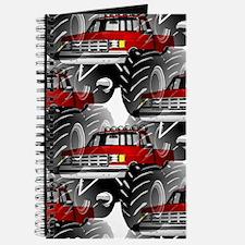 RED MONSTER TRUCK Journal