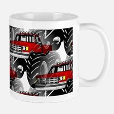 RED MONSTER TRUCK Mug