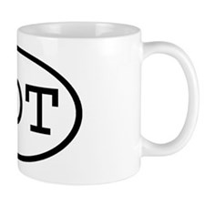 LOT Oval Mug