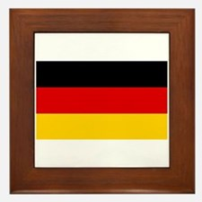 German Flag Framed Tile