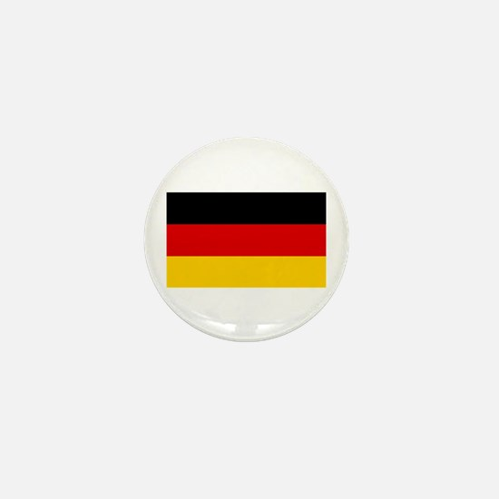 German Flag Mini Button