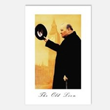 Churchill - The Old Lion Postcards (Package of 8)