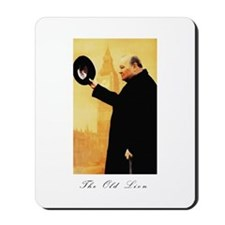 Churchill - The Old Lion Mousepad
