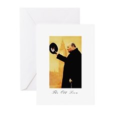 Churchill - The Old Lion Greeting Cards (Pk of 20)