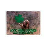 CAN I BE IRISH? Rectangle Magnet
