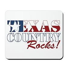 Texas Country Rocks Mousepad