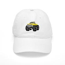 Yellow MONSTER Truck Baseball Cap