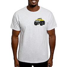 Yellow MONSTER Truck T-Shirt