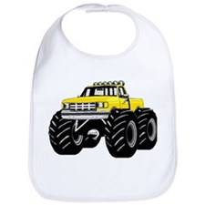 Yellow MONSTER Truck Bib