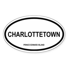 Charlottetown Oval Decal