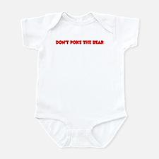 Don't Poke Bear Infant Bodysuit