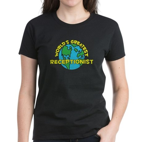 World's Greatest Recep.. (H) Women's Dark T-Shirt