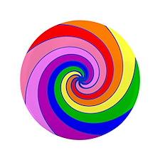 """Twirl 3.5"""" Button"""