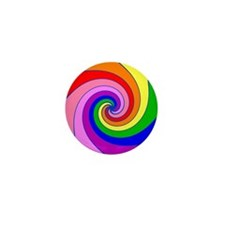 Twirl Mini Button