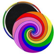 "Twirl 2.25"" Magnet (10 pack)"