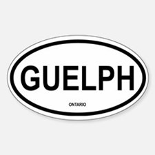 Guelph Oval Decal