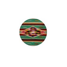 Southwest Indian Weaving Mini Button (10 pack)