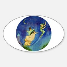 PETER PAN Sticker (Oval)