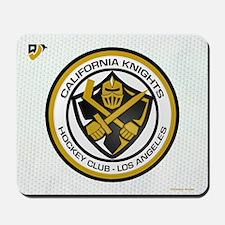 Cal Knights Hockey Wht Mousepad