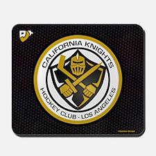 Cal Knights Hockey Blk Mousepad