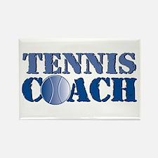 Tennis Coach Rectangle Magnet