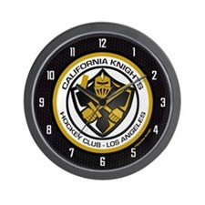 Cal Knights Hockey Wall Clock