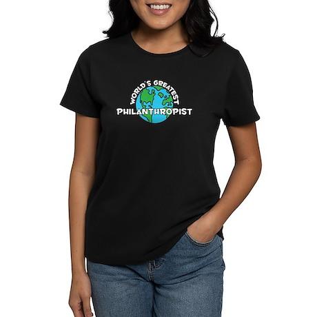 World's Greatest Phila.. (G) Women's Dark T-Shirt