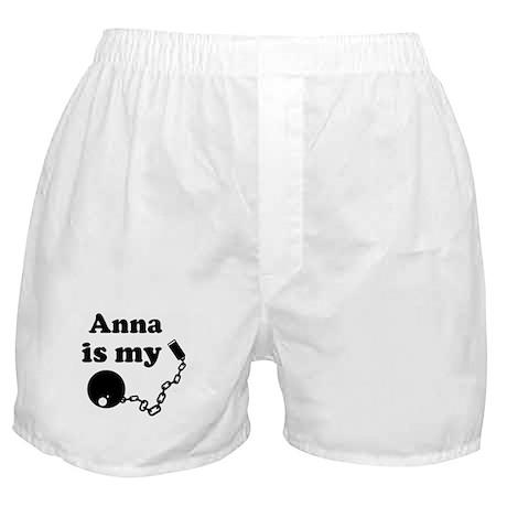 Anna (ball and chain) Boxer Shorts