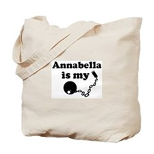 Annabella (ball and chain) Tote Bag