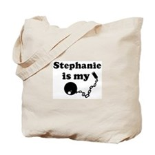 Stephanie (ball and chain) Tote Bag