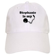 Stephanie (ball and chain) Baseball Cap