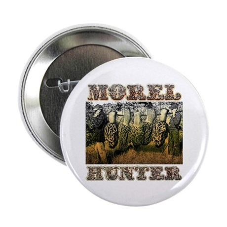 "Morel hunter gifts and t-shir 2.25"" Button (1"