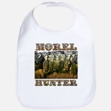 Morel hunter gifts and t-shir Bib