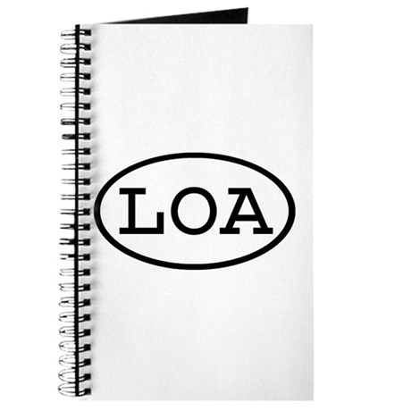 LOA Oval Journal