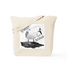 """Gull with Attitude"" Tote Bag"