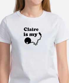 Claire (ball and chain) Tee