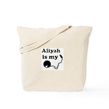 Aliyah (ball and chain) Tote Bag