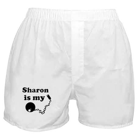 Sharon (ball and chain) Boxer Shorts