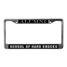 """School of Hard Knocks"" License Plate Frame"
