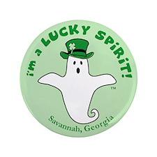 "Lucky Spirit 3.5"" Button"