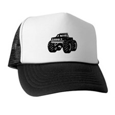 BLACK MONSTER TRUCK Trucker Hat