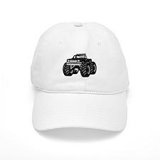 BLACK MONSTER TRUCK Baseball Cap