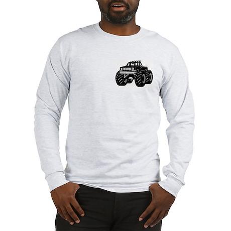 BLACK MONSTER TRUCK Long Sleeve T-Shirt
