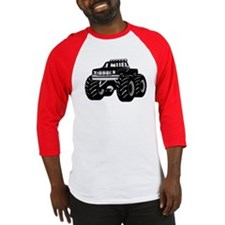 BLACK MONSTER TRUCK Baseball Jersey