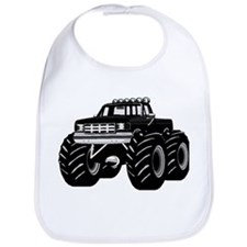 BLACK MONSTER TRUCK Bib