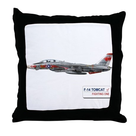 VF-1 Wolfpack Throw Pillow