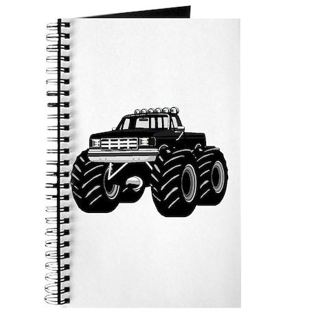BLACK MONSTER TRUCK Journal