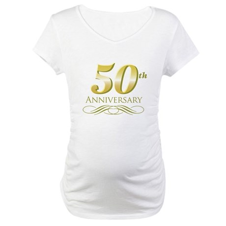 50th Anniversary Maternity T-Shirt