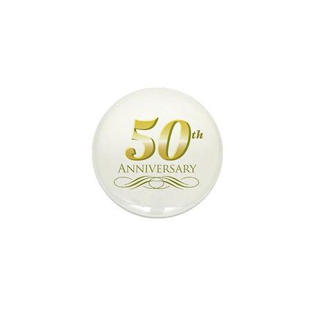 50th Anniversary Mini Button (10 pack)