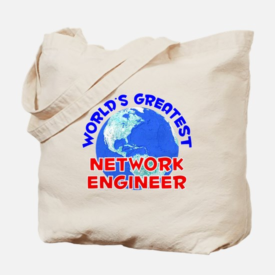 World's Greatest Netwo.. (E) Tote Bag